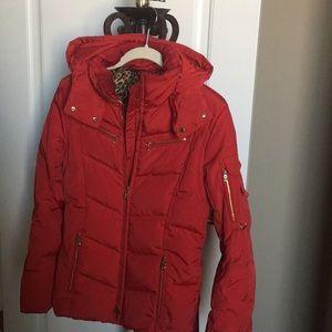 Bogner Puffer Ski Jacket with hood.